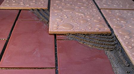 Collante cementizio speciale impermeabilizzante per - Impermeabilizzante per piastrelle ...