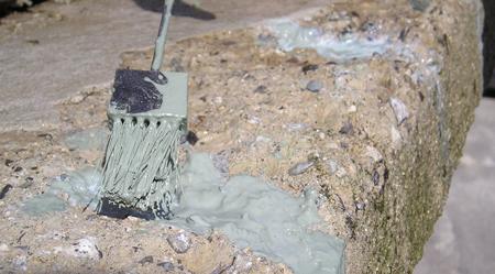 Pittura Per Cemento Armato : Pittura cementizia bicomponente contro la ruggine per il ferro del